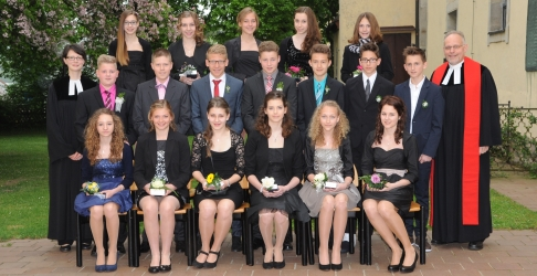 Konfirmation 2014 in Oberferrieden (Pf. Hager)